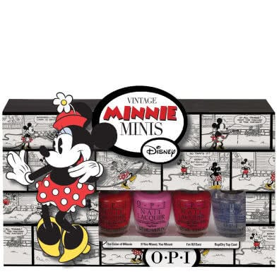 OPI Vintage Minnie Mouse Minis Collection