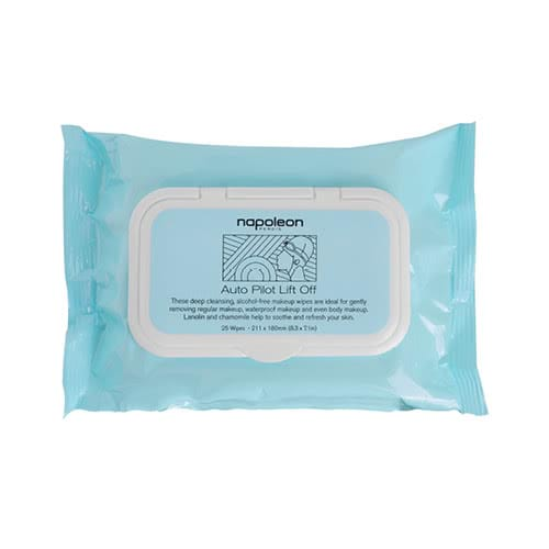 Napoleon Perdis Lift Off Cleansing Wipes - 100 pk