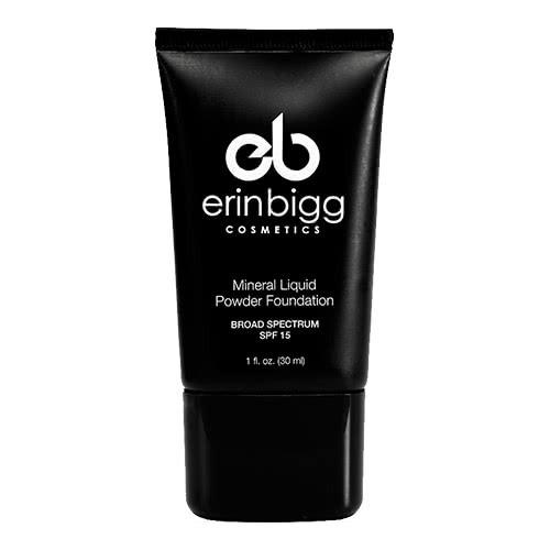Erin Bigg Cosmetics Mineral Liquid Powder Foundation