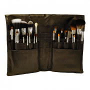 Kryolan Silver Handle Brush Set - 25 Piece