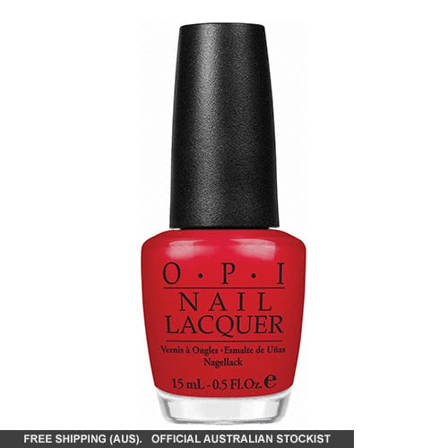 OPI Nail Lacquer - Swiss Collection, Color So Hot It Berns by OPI color Color So Hot It Berns