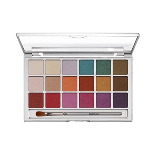 Kryolan 18 Eye Palette - V1 Frosts by Kryolan