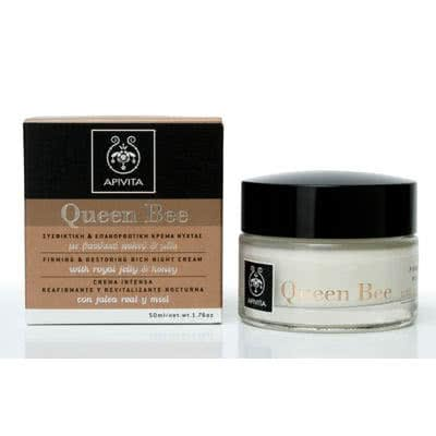 APIVITA Queen Bee Firming & Restoring Rich Night Cream by APIVITA