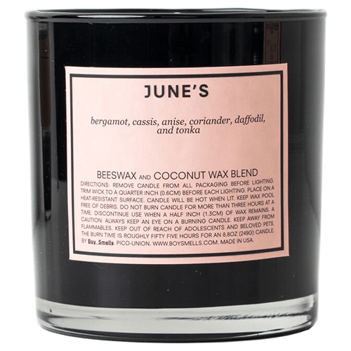 Boy Smells Candle - June's