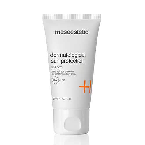 mesoestetic dermatological sun protection SPF 50+ by Mesoestetic