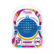 Palmat Makeup Brush Cleaning Tool - Blue