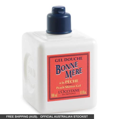 L'Occitane Bonne Mère Stackable Shower Gel - Peach by loccitane