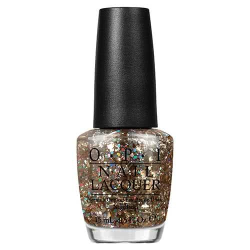 OPI Spotlight On Glitter Nail Polish Collection I Reached My Gold!  by OPI
