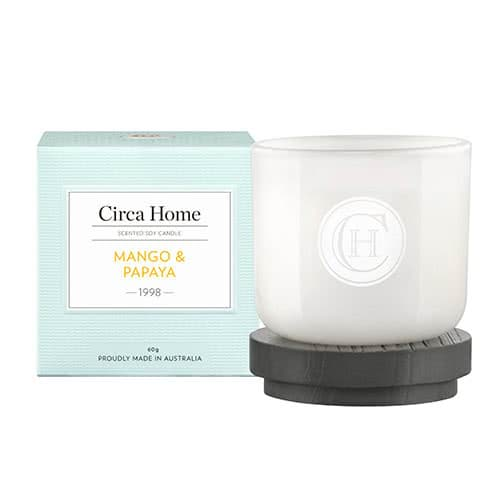 Circa Home Mango & Papaya Miniature Candle 60g by Circa Home
