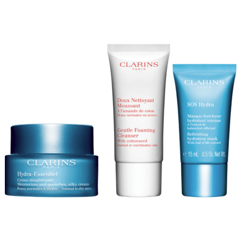 Clarins Hydra-Essentiel Expertise Skin Trio Set by Clarins