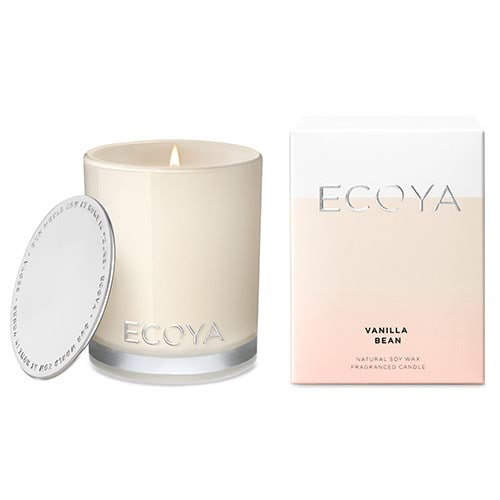 Ecoya Mini Metro Jar Candles-Vanilla Bean by Ecoya color Vanilla Bean