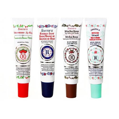 Smith's Rosebud Salve Lip Balm Tubes