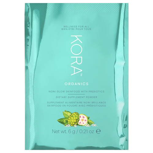 KORA Organics Noni Glow Skinfood With Prebiotics 7 Day Pack