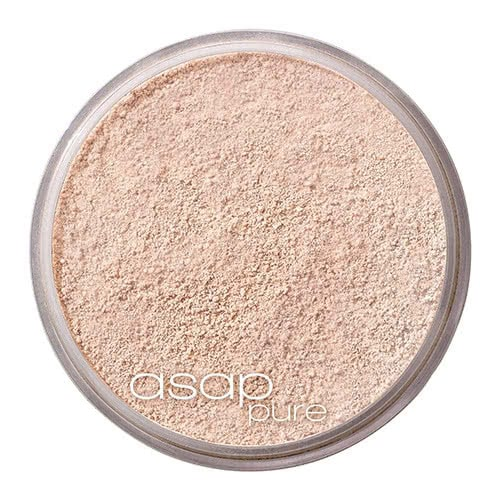 asap pure mineral foundation - available in 5 shades