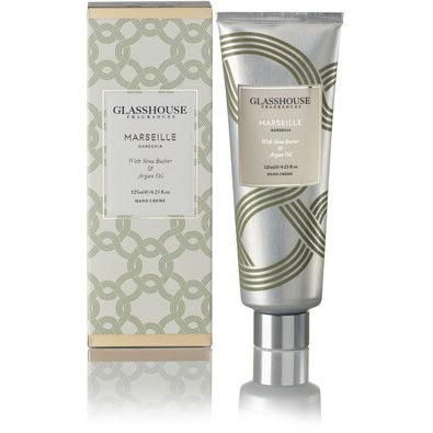 Glasshouse Marseille Hand Creme - Gardenia by Glasshouse Fragrances