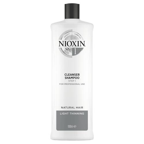 Nioxin 3D System 1 Cleanser Shampoo 1000ml