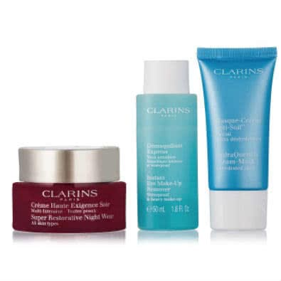 Clarins Sleep Tight Night Time Trio - Super Restorative  by Clarins