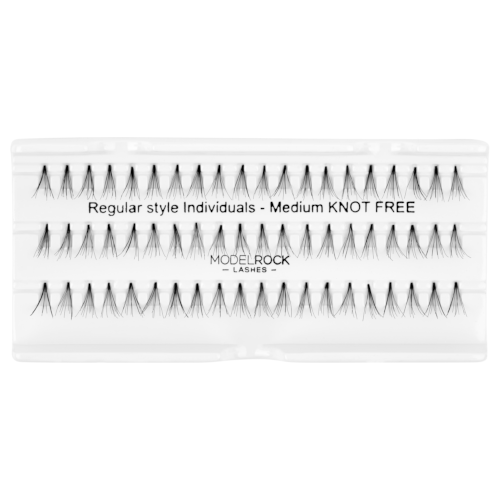 MODELROCK Regular Medium Knot Free Lashes by MODELROCK