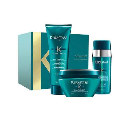 Kérastase Therapiste Christmas Coffret – for Very Damaged, Thick Hair by Kerastase
