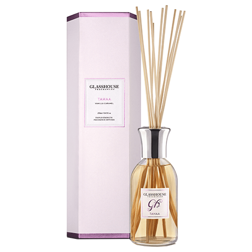 Glasshouse Tahaa Diffuser - Vanilla Caramel by Glasshouse Fragrances