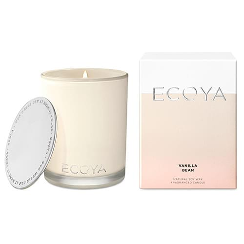 Ecoya Madison Jar Fragranced Candle - Vanilla Bean
