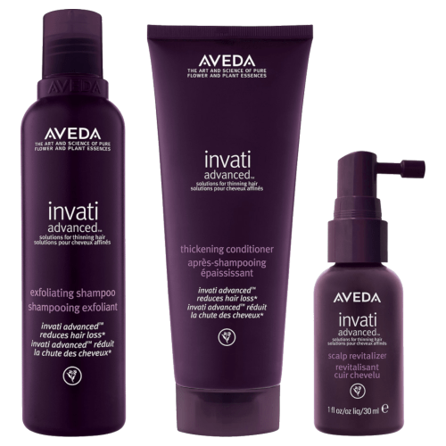 Aveda Invati Advanced Kit with Full-Size Shampoo and Conditioner