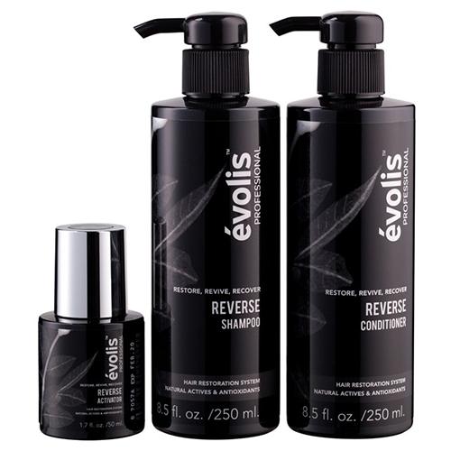 Evolis Professional Reverse Hair Restoration 3 Step System