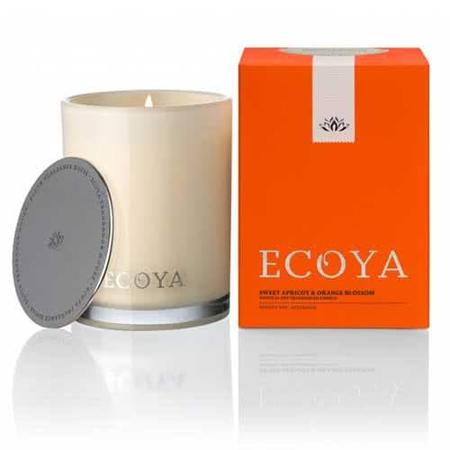 Ecoya Sweet Apricot & Orange Blossom Limited Edition Madison Jar Candle by Ecoya