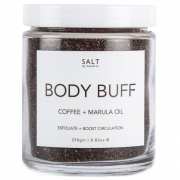 SALT BY HENDRIX Body Buff - Coffee + Marula Oil 250g