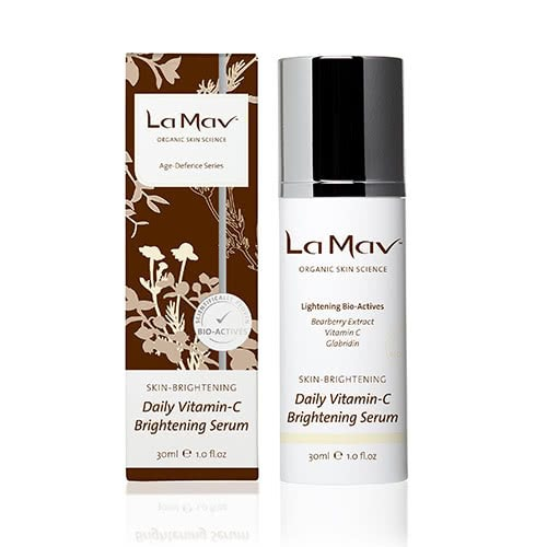 La Mav Organic Daily Vitamin-C Brightening Serum by La Mav Organic Skin Science