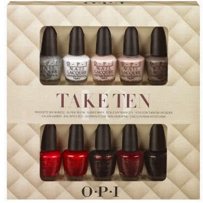 OPI Take Ten Mini Nail Polish Set