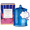 Glasshouse Cotton Candy Cloud Candle - Fairy Floss 350g