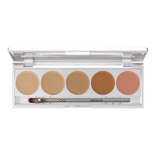 Kryolan HD Micro Foundation Cache Palette - Contouring by Kryolan
