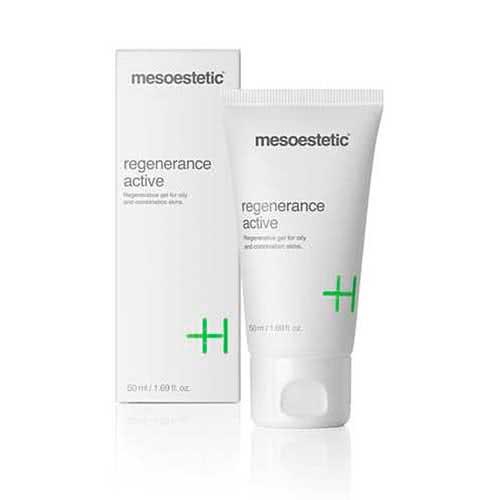 mesoestetic regenerance active non-oily moisturising gel
