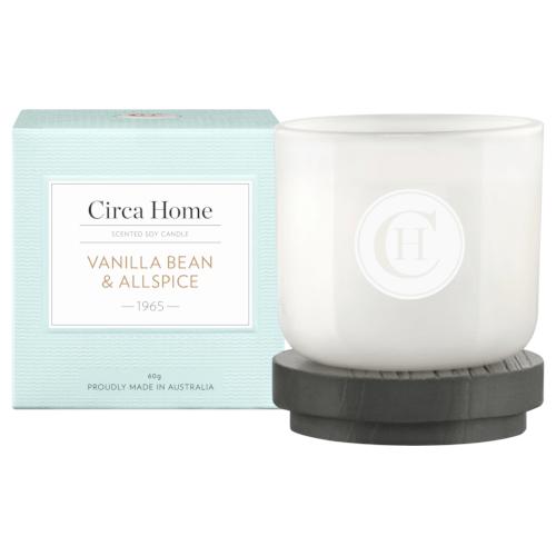 Circa Home Vanilla Bean & Allspice Mini Candle 60g