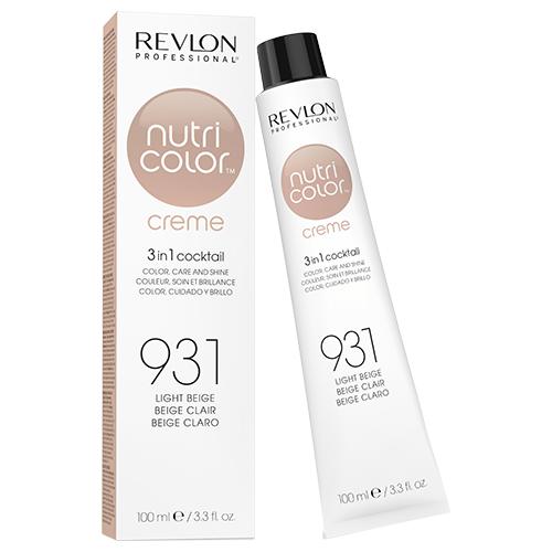 Revlon Professional Nutri Color Crème - 931 Light Beige 100ml