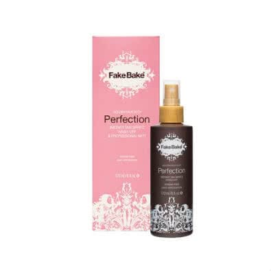 Fake Bake Perfection Instant Tan Spritz Wash-Off & Professional Mitt