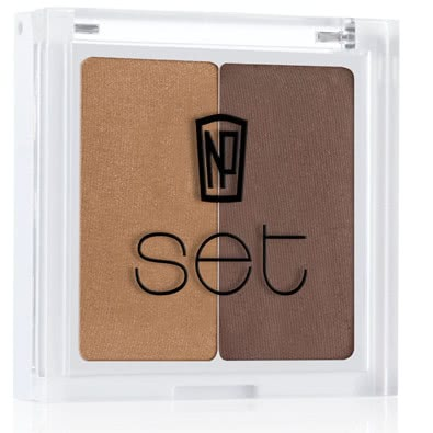 NP Set Eye Shadow Duo-Barbados by NP Set color Barbados