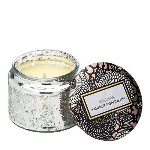 Voluspa Yashioka Gardenia Petite Jar Candle by Voluspa