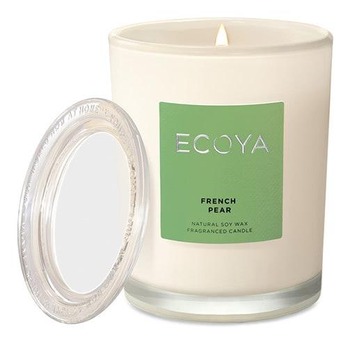 Ecoya Metro Jar Fragranced Candle - French Pear by Ecoya