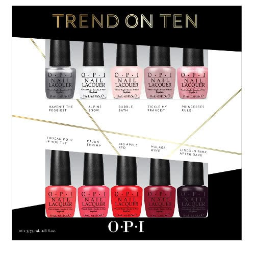 OPI Trend on Ten Nail Polish Collection by OPI