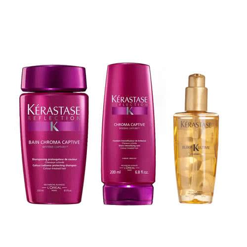Kerastase Chroma Captive 3 Step Haircare: Coloured Hair by Kerastase