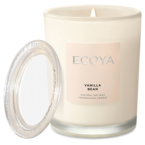 Ecoya Metro Jar Fragranced Candle - Vanilla Bean by Ecoya