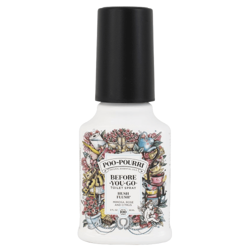 Poo Pourri Hush Flush Toilet Spray by Poo Pourri