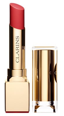 Clarins Rouge Eclat Satin Finish Age-Defying Lipstick-08 Coral Pink