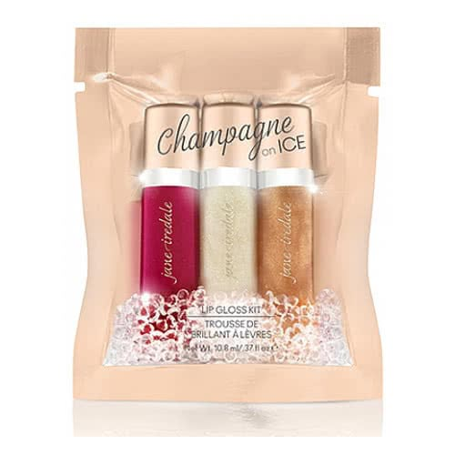 Jane Iredale Champagne On Ice Lip Gloss Kit by jane iredale