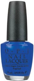 OPI Nail Lacquer - Brights Collection, Blue My Mind (Shimmer) by OPI color Blue My Mind (Shimmer)