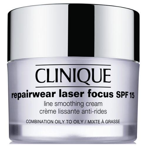 Clinique Repairwear Laser Focus Night Line Smoothing Cream - Combination Oily To Oily