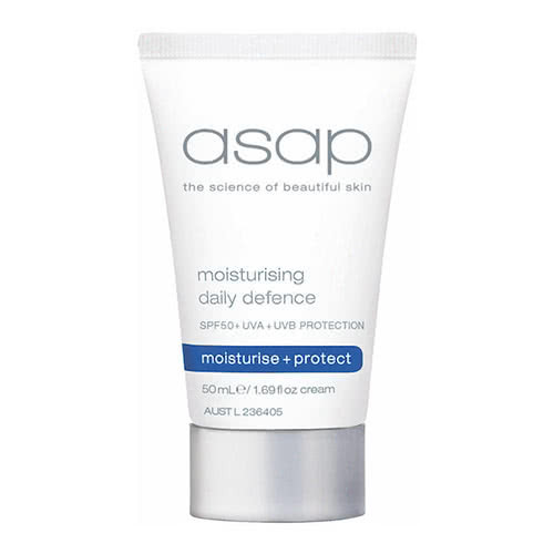 asap moisturising daily defense spf30 - 50ml