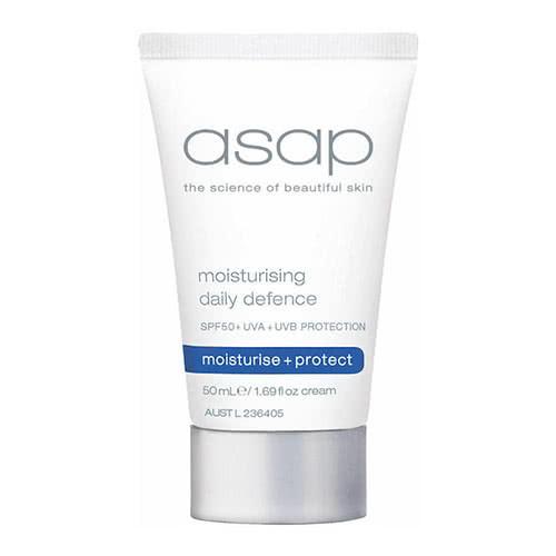 asap moisturising daily defence SPF 50 - 50ml